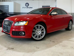 2011 AUDI S5 PREMIUM|SPORT DIFF|RED ON RED|STASIS EXHAUST