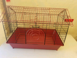 #3  Maroon Guinea pig cage (26 x 16 x 21)