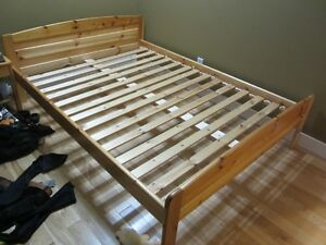 Double Bed and Night Stand for sale