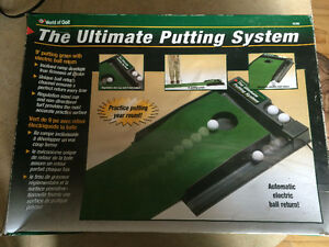 Ultimate Putting System - Automatic Ball Return + Putting Mat