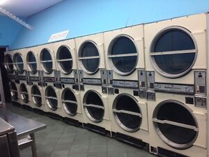 Coin Laundry Dryers, Huebsch Commercial Stack GAS Dryers