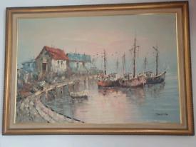 Huge painting