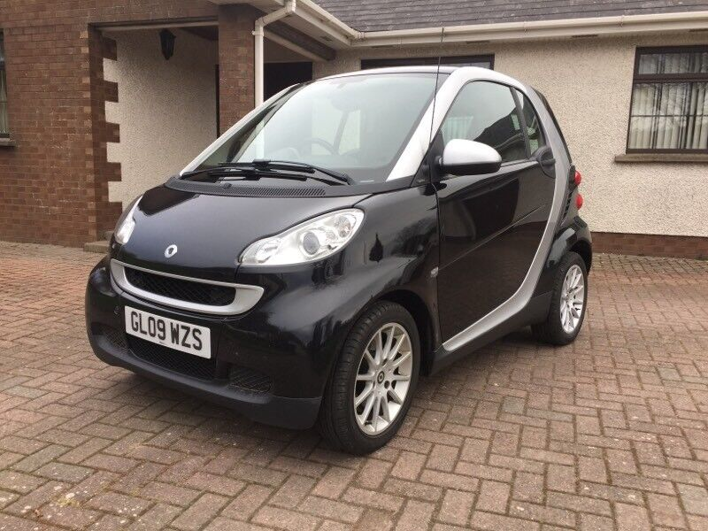 Sel Smart Car Fortwo 0 8cdi Full Service History 90mpg Free Road Tax