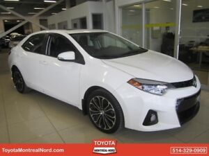 Toyota Corolla S + Toit + Mags+ Cuir + Gps 2015