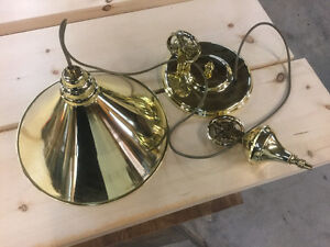 Brand new brass pendant adjustable light
