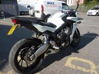 Honda CBR650F ABS White 2015 65 Plate 4899 Miles
