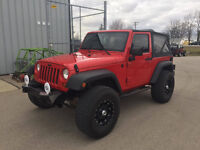 Lifted 2007 Jeep Wrangler@OFFROAD ADDICTION