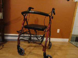 BIOS DIAGNOSTIC WALKER WITH WHEELS - BRAND NEW