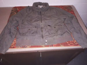 Ladies Spring Jacket Size 2X GOOD USED CONDITION