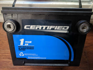 Used Car Battery - Certified