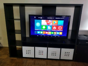 Ikea Bookshelf plus TV stand for sale...
