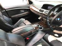 2007 57 reg BMW 730d Sport Black + Black Leather + Sat NAV + Loaded Example
