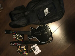 PS3 Guitar Hero Guitar (w/ accessories)