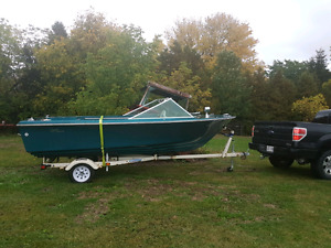 Trailer for sale 1000$ with FREE boat!!