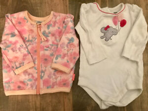 Brand new Mexx and Gymboree sweater warm floral outfit