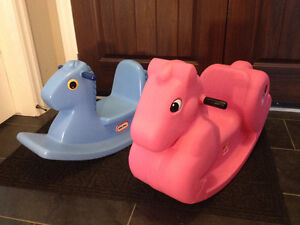 Little tikes and Step 2 toy Rocking Horse s