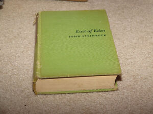 East of Eden John Steinbeck First Edition Third Printing Book London Ontario image 5