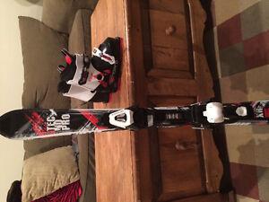 Bottes et Ski alpin junior