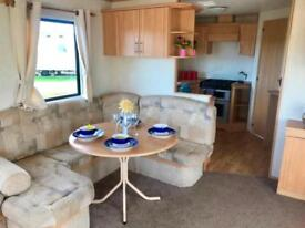 stunning 6 berth static caravan here at Sandylands holiday park , Scotland