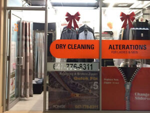 Dry cleaning store Business (干洗生意转送)