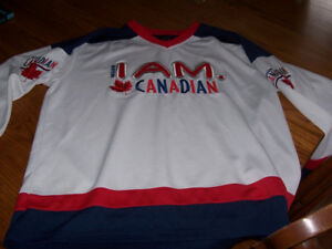 Mens Size Large Hockey Jersey