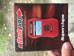 Super chips flashpaq for Ford deisel and gas engines 99 to 2015