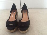 River island ladies wedge sandles