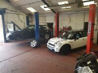 Used car sales, MOT, servicing and repairs business