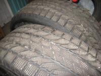 2 pneus d 'hiver BF Goodwrich winter slaloom 215-65-16