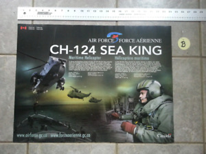 - CH - 124 SEA KING MARITIME HELICOPTER - 2-Sided POSTER -