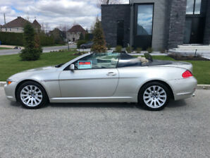 2004 BMW 6-Series 645ci décapotable Cabriolet