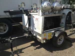 Light towers and generators for sale