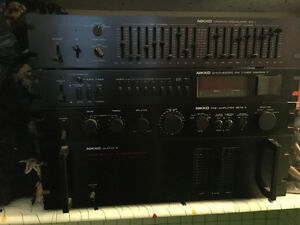 Nikko Stereo System - Equalizer - Synthesizer - Pre Amplifier