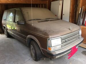 87 Plymouth Voyager First Generation