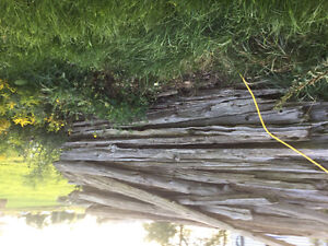 Cedar rails/barrier logs