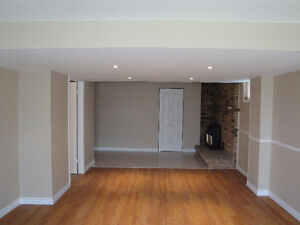 Spacious 1 Bedroom Basement Apartment with Separate Entrance
