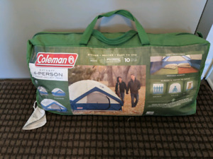 4 person tent - coleman grand valley