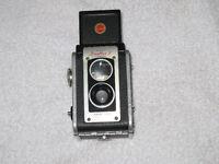 3 Vintage Kodak Cameras,(1) Dulaflex(2)Instamaticx-15(3Tele-extr