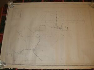 MANITOULIN ISLAND TOWNSHIP MAPS 1972 PLANNING STUDY London Ontario image 3