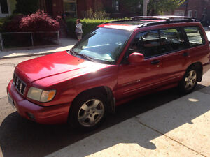 Strong old Subaru Forester