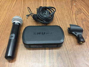 Shure PGW Wireless Hand Held Microphone System