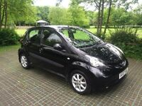 Toyota Aygo black vvt 12 months mot I previous owner