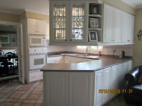 Full size Kitchen Cabinets (white)