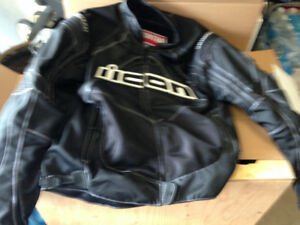 ICON Contra Motorcycle Jacket size Men's XL