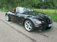 BMW Z3 Rare 2.8 Manual Wide Body Black Manual Petrol, 1998