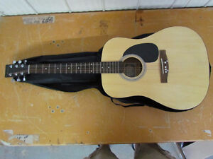 Academy Acoustic Guitar w/carry case