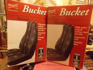 New pair seat covers, high back buckets