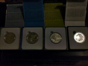 $100 Canadian Silver Coins 2014 & 2015