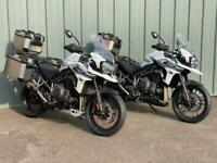TRIUMPH TIGER XCX AND XRX ON PROMOTION