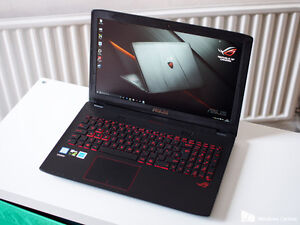 gaming laptop  Asus ROG GL552V i7-6700HQ/12GB RAM/gtx360 video